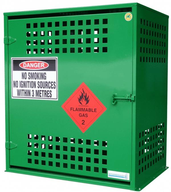 SGQA12 LPG Gasy Cylinder Storage closed