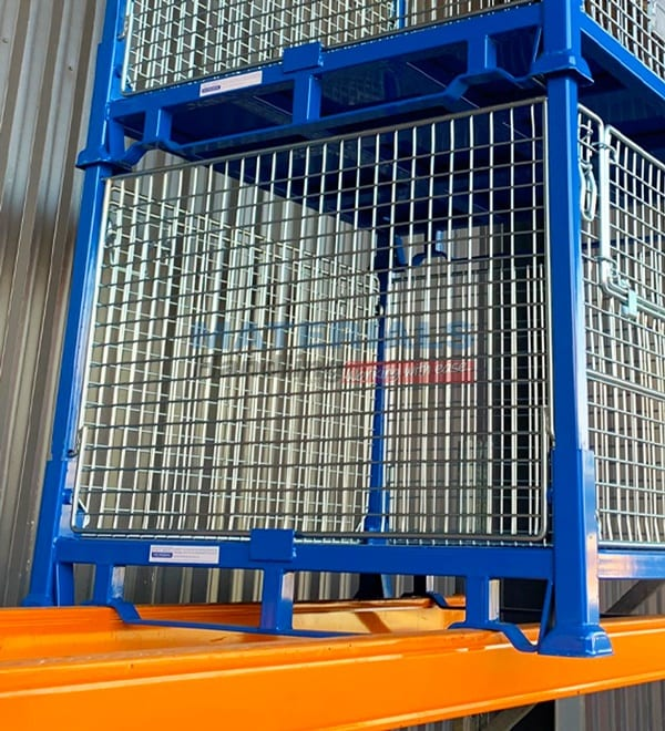 SMMC01 Collapsible Stillage Cage Racking