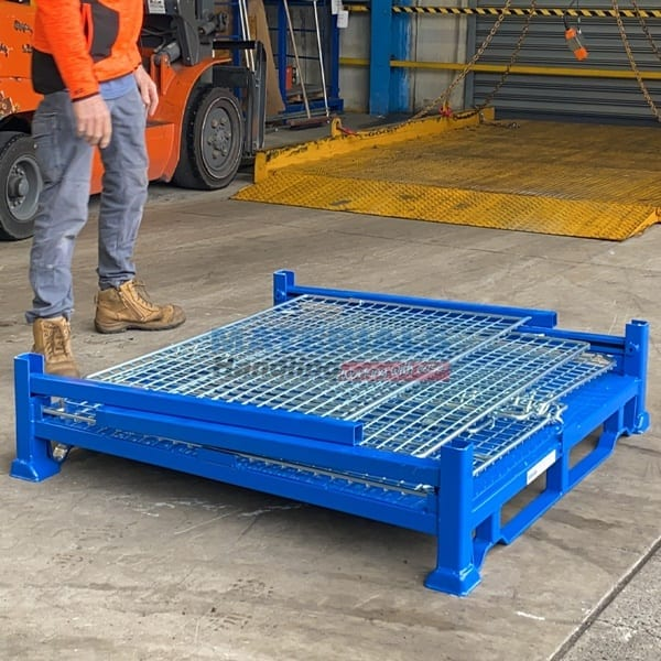 SMMC01 Collapsible Stillage Cage flat