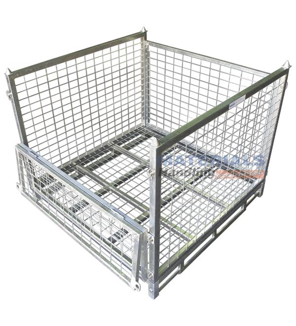SPCM2 Stillage Cage folded front