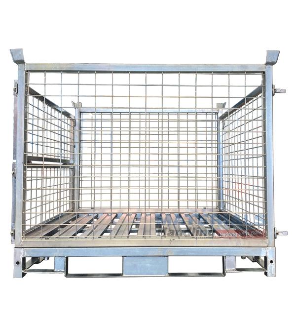 SPCT-2SP Steel Pallet Cages