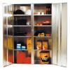 ST02 2 Door Cabinet Galvanised Security Storage Cabinets
