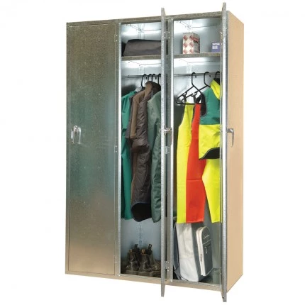 ST04 Triple Bank Cabinet Galvanised Security Storage Cabinets