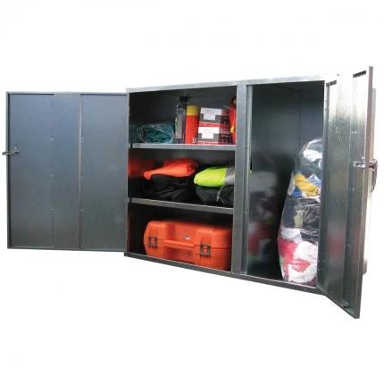 ST08 2 Door Cabinet Galvanised Security Storage Cabinets