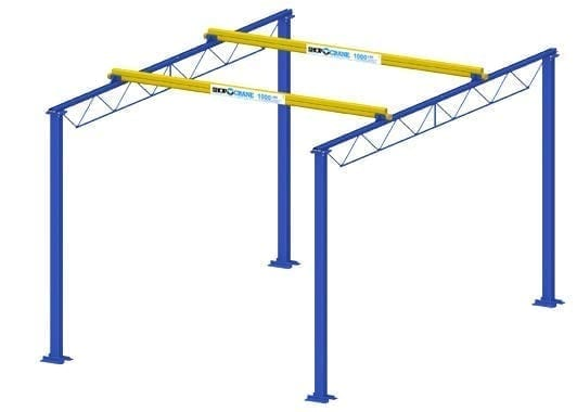 Shop Crane Modular Gantry (1)