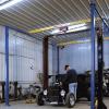 Shop Crane Modular Gantry in workshop