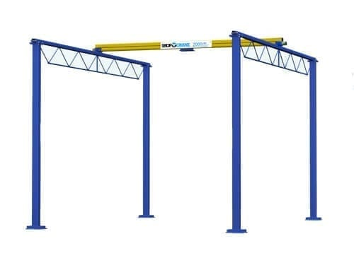 Shop Crane Modular Gantry (2)