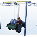 Shop Crane Modular Gantry in use