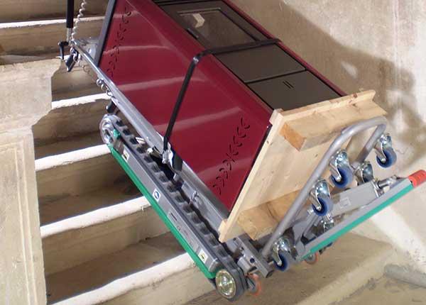 Skipper Stair Climbing Hand Truck for high loads