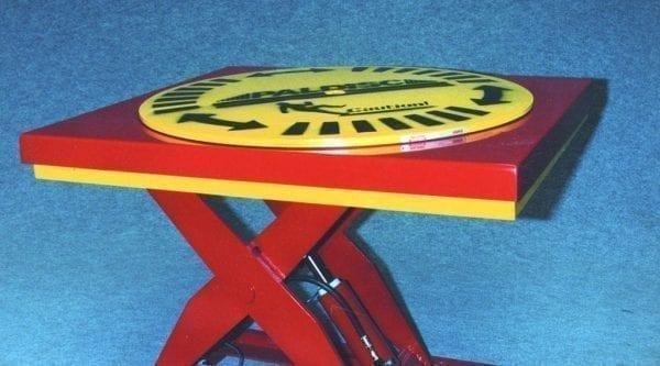 SmartLift scissor table with Paldisc