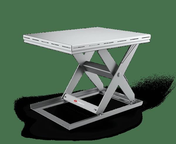 Stainless Scissor Lift Tables Hygiene