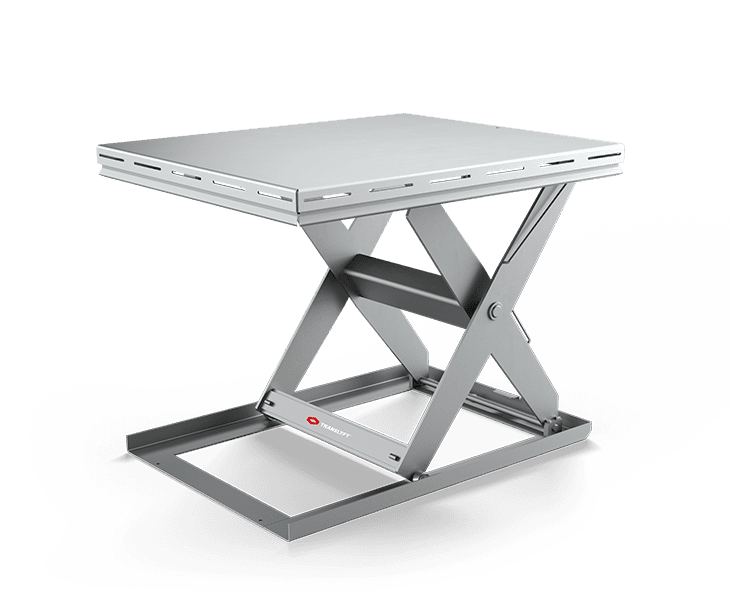 Stainless Scissor Lift Tables Hygiene
