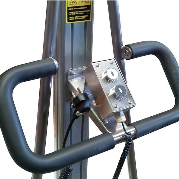 Stainless Steel Powered Mobile Platform Lifters controls