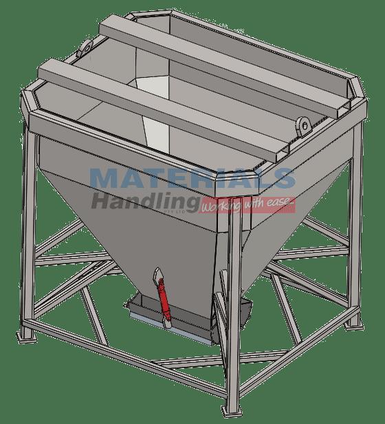 Stand-Up Concrete Kibbles MCKV51 3D