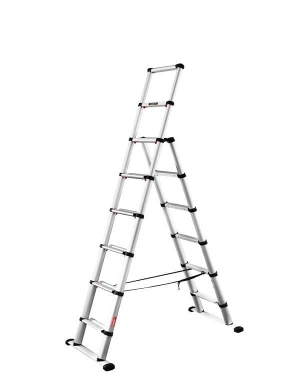 TELEC24 Combi Telesteps Telescopic Ladders extended