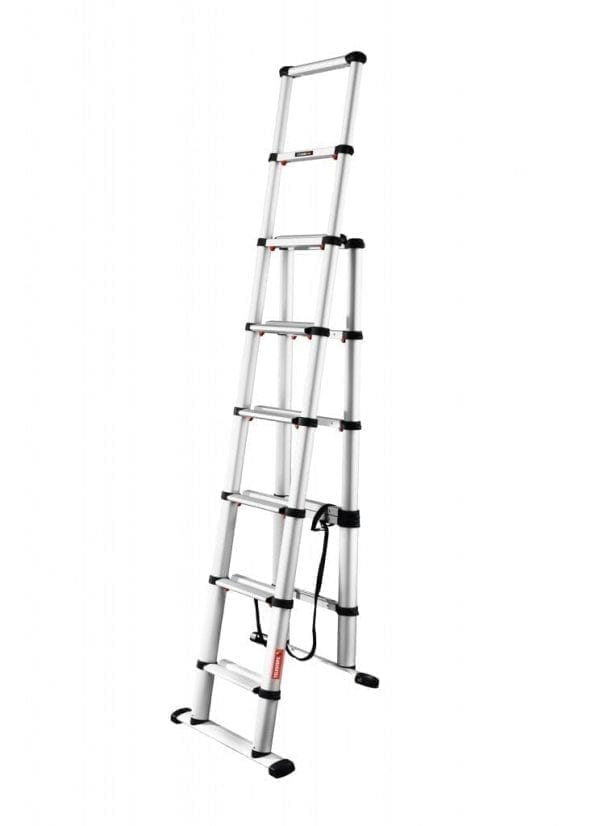 TELEC24 Combi Telesteps Telescopic Ladders folded back