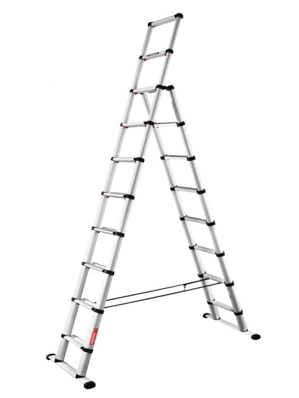TELEC31 Combi Telesteps Telescopic Ladders extended 1