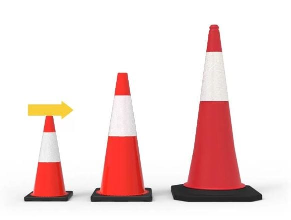 Traffic Safety Cones Reflective