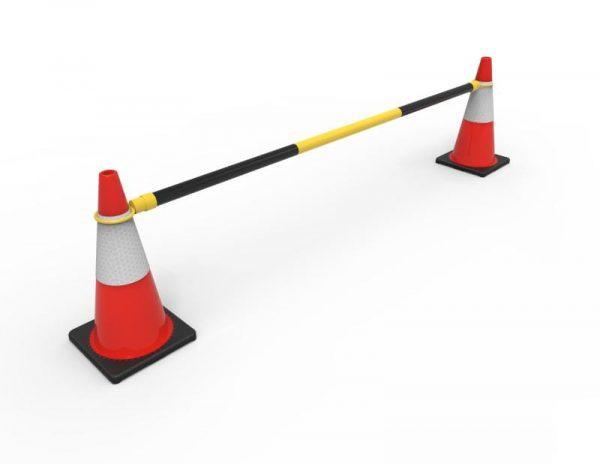 Traffic Safety Cones Retractable Bar RCB2 with cones