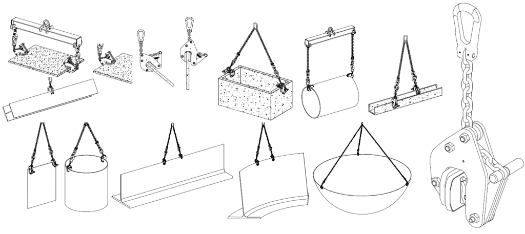 Universal Lifting Clamp Applications