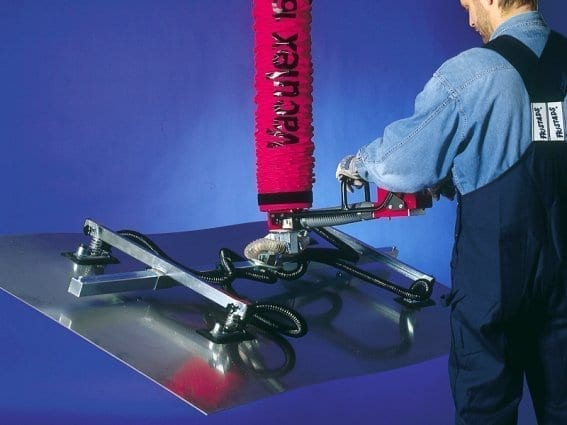 Vaculex VL with steel plates