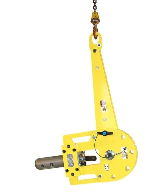 Vertical Roll Lifter in Horizontal position