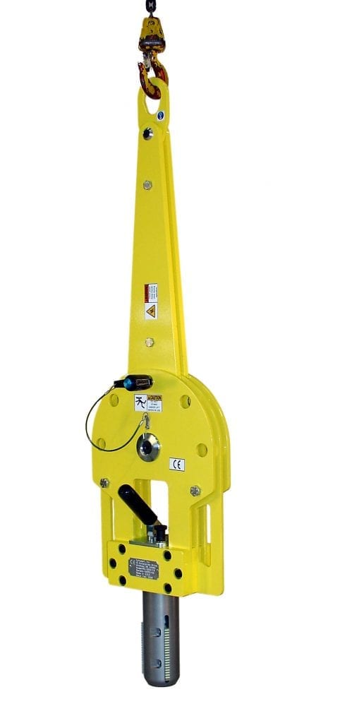 Vertical Roll Lifter in Vertical position
