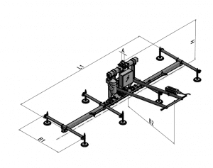 VacuBoy 90 Degree Lift and Tilt