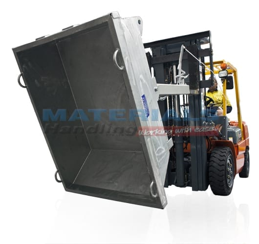 MFWL Forklift Tipping Bins (Lever Released)