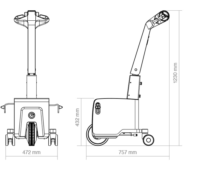 Wheelchair Mover Dimensions