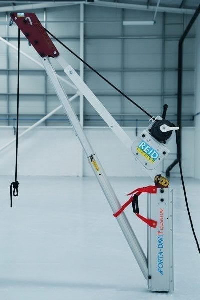 Porta-Davit Quantum Crane Winch