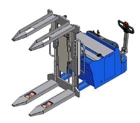 Aries Mobile Pallet Inverter Drawing