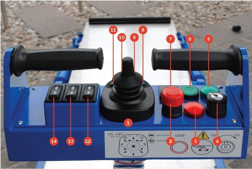 PianoPlan Operation Controls