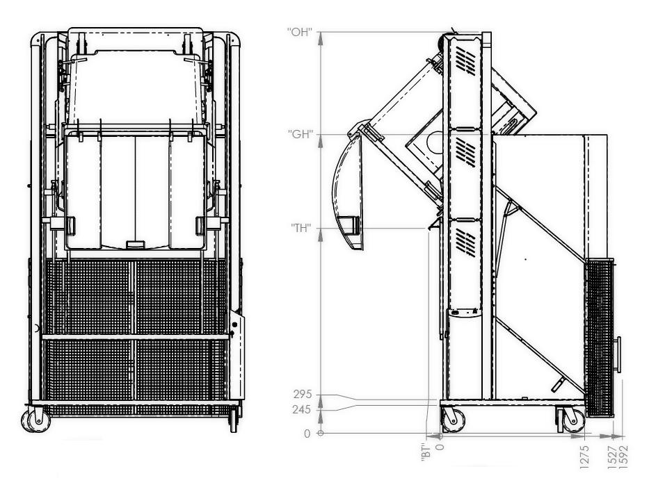 MegaDumper for bins 1100L