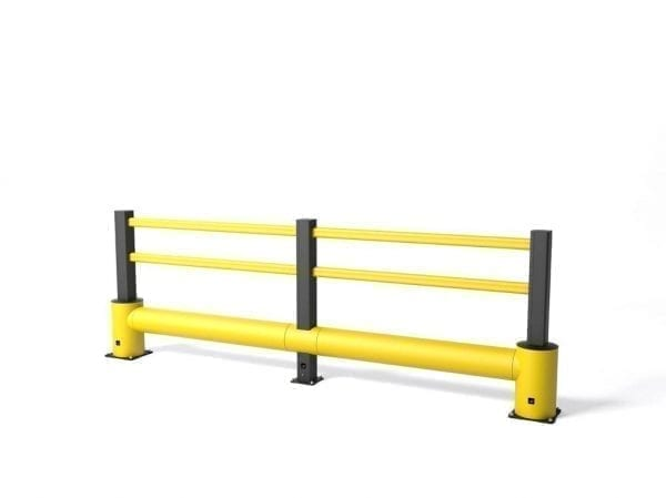 flex impact traffic safety barrier tp plus min
