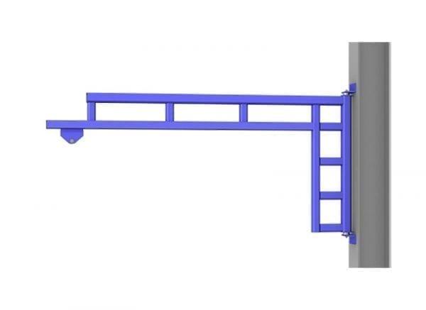 gorbel-wall-mounted-workstation-jib-crane-enclosed-rail