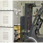 Forklift Mounted Bin Tipper