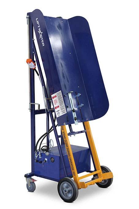 Electro-Hydraulic Wheelie Bin Tipper