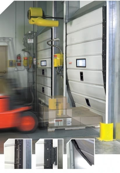 Knockout Dock Doors Materials Handling
