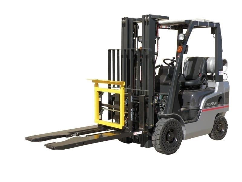 Forklift Mounted Bin Tipper with Forklift