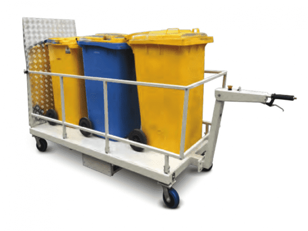 MPBT powered wheelie bin trolley