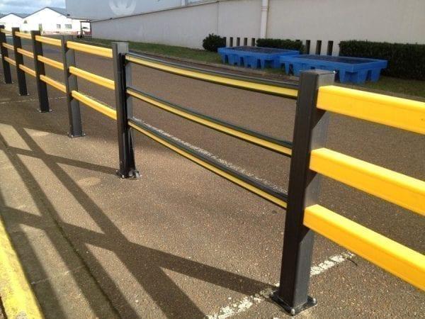 Flex Impact Safety Gate - Sliding Gate