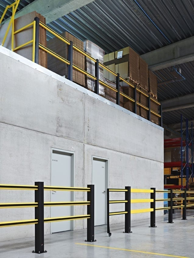 Flex Impact Safety Gate - Sliding Gate