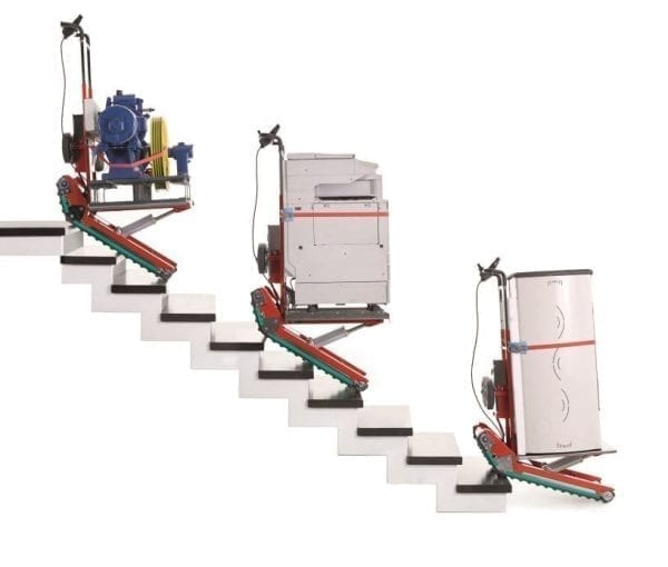 stairclimbing trolley domino automatic zonzini heavy loads